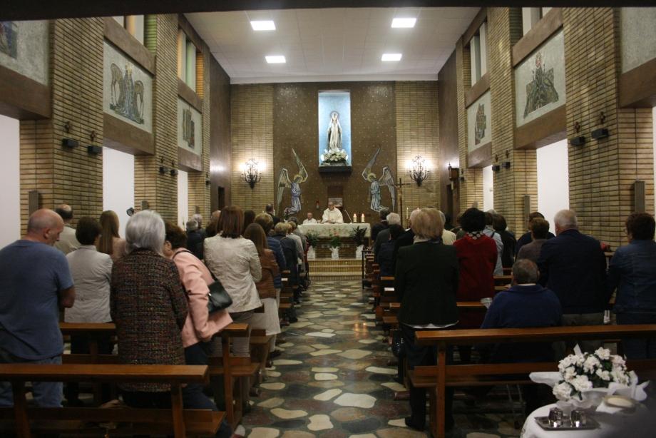 Reformas en la capilla